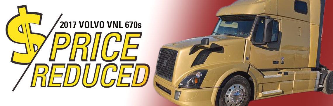2017 VOLVO VNL670 Price Reduced